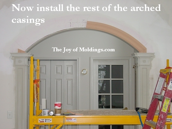 How to Build ARCHWAY-101 Part 6: Installing the Arched Casing - The ...