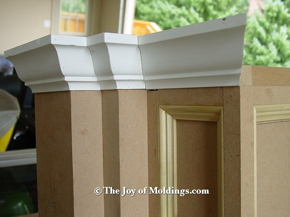 How to build fireplace mantel 103 part 9 lantern crown collar the joy of - Build sealed fireplace home step step ...
