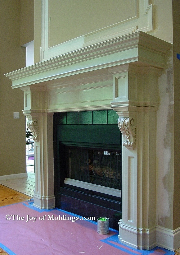FIREPLACE MANTELS Archives - The Joy of Moldings.com