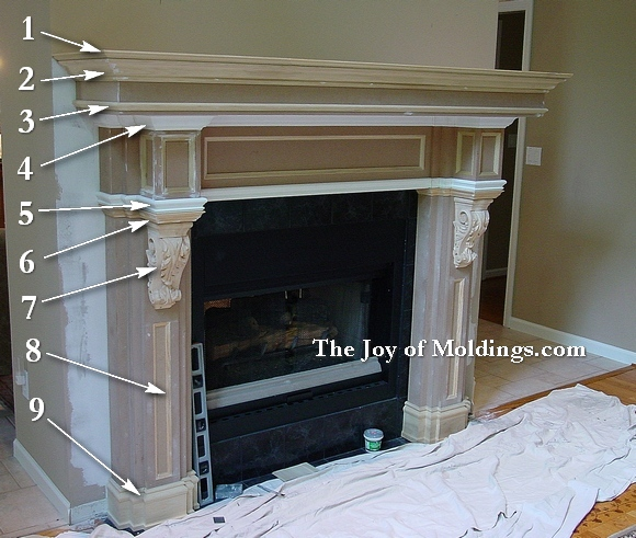 cusotom fireplace mantel - How To Build A Fireplace Surround