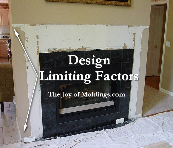 Step by step how to build this traditional style fireplace mantel.