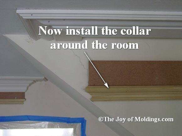 install moldings