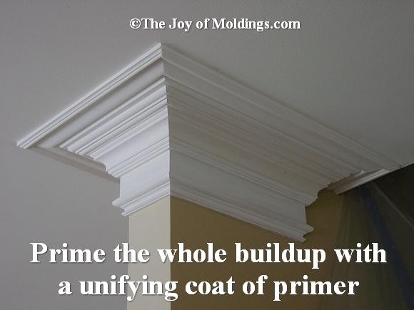 priming crown molding