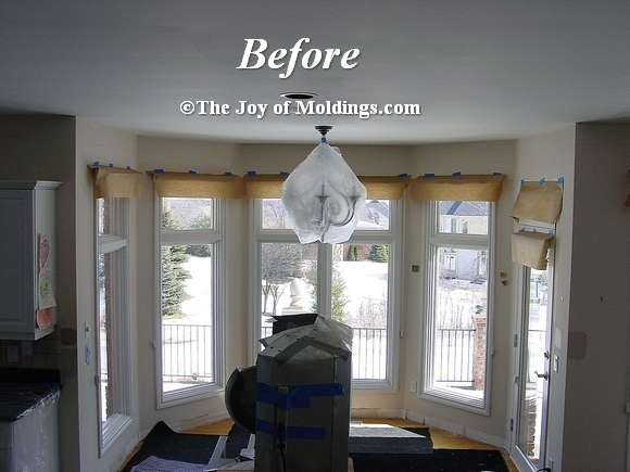 How To Install Crown Molding-104 For C. $5.17/Lf - The Joy Of