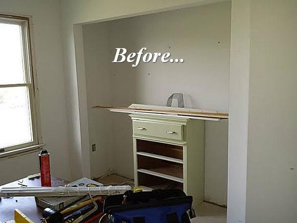 Dan S Storage Room Molding Makeover The Joy Of Moldings
