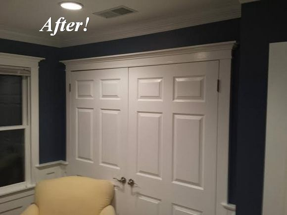 Dan S Storage Room Molding Makeover The Joy Of Moldings