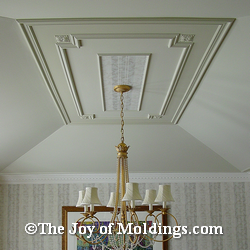 ceiling moldings decorative wall moulding ideas - Ceiling Molding Design Ideas