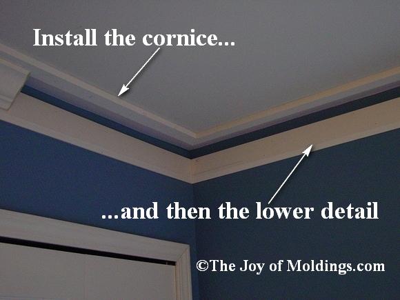 bedroom moldings