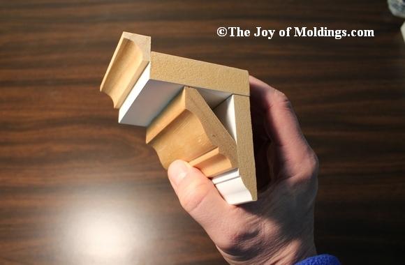 crown molding buildup