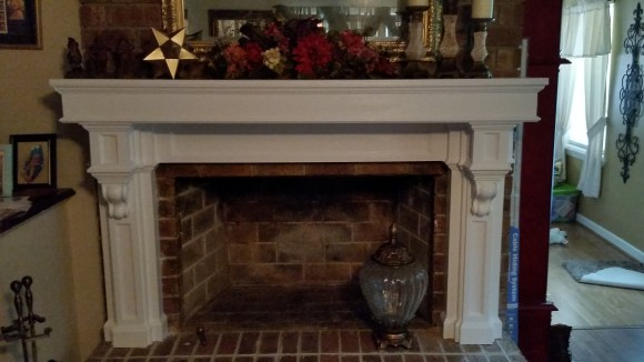 fireplace mantel diy mdf