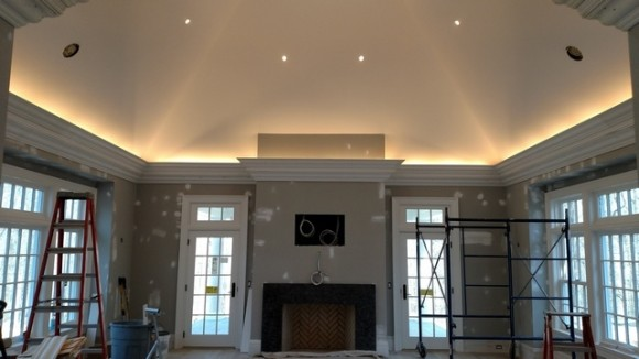 flying crown molding