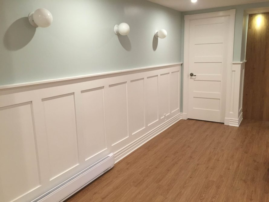 wainscoting diy