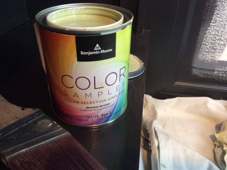 benjamin moore paint sample