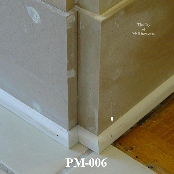 Pine Baseboard Molding