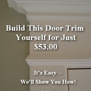 how to install interior trimwork