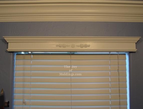 Diy Window Valance Box With Ornate Lique