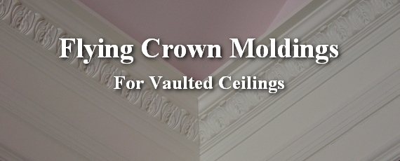 ideas for painting cathedral ceilings a home - How to Install Crown Molding on Vaulted or Cathedral