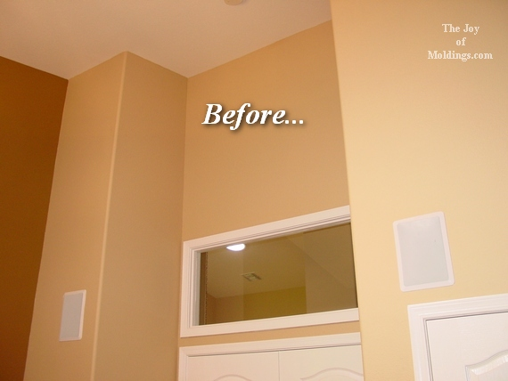 ideas on crown molding on ceiling curves down - Ceiling Crown Molding