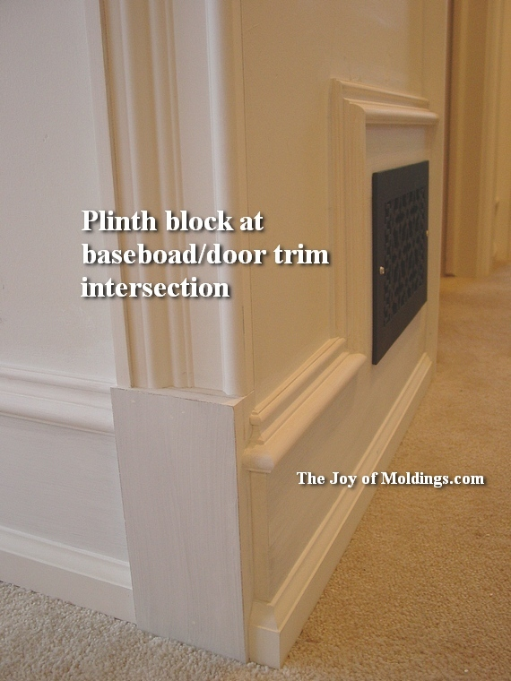 How To Install And Make Plinth Blocks