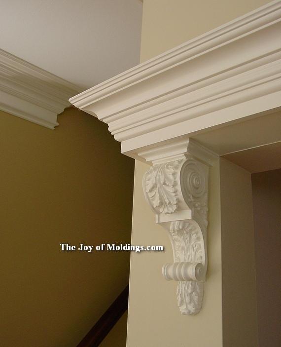 Gentil Crown Molding And Corbel Over Door How To Make Door Trim 115 Corbel  Entablature For C 19 91 Part 1