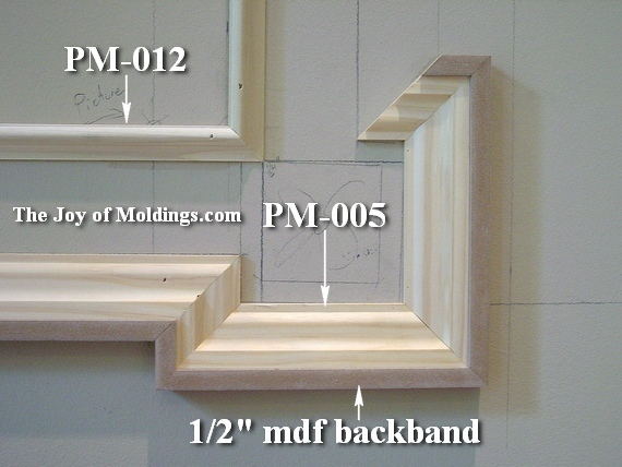 Wall Frame Moldings For Eared Architrave