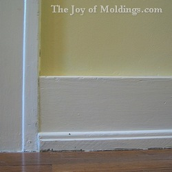 Baseboard Molding Craftsman Victorian Style